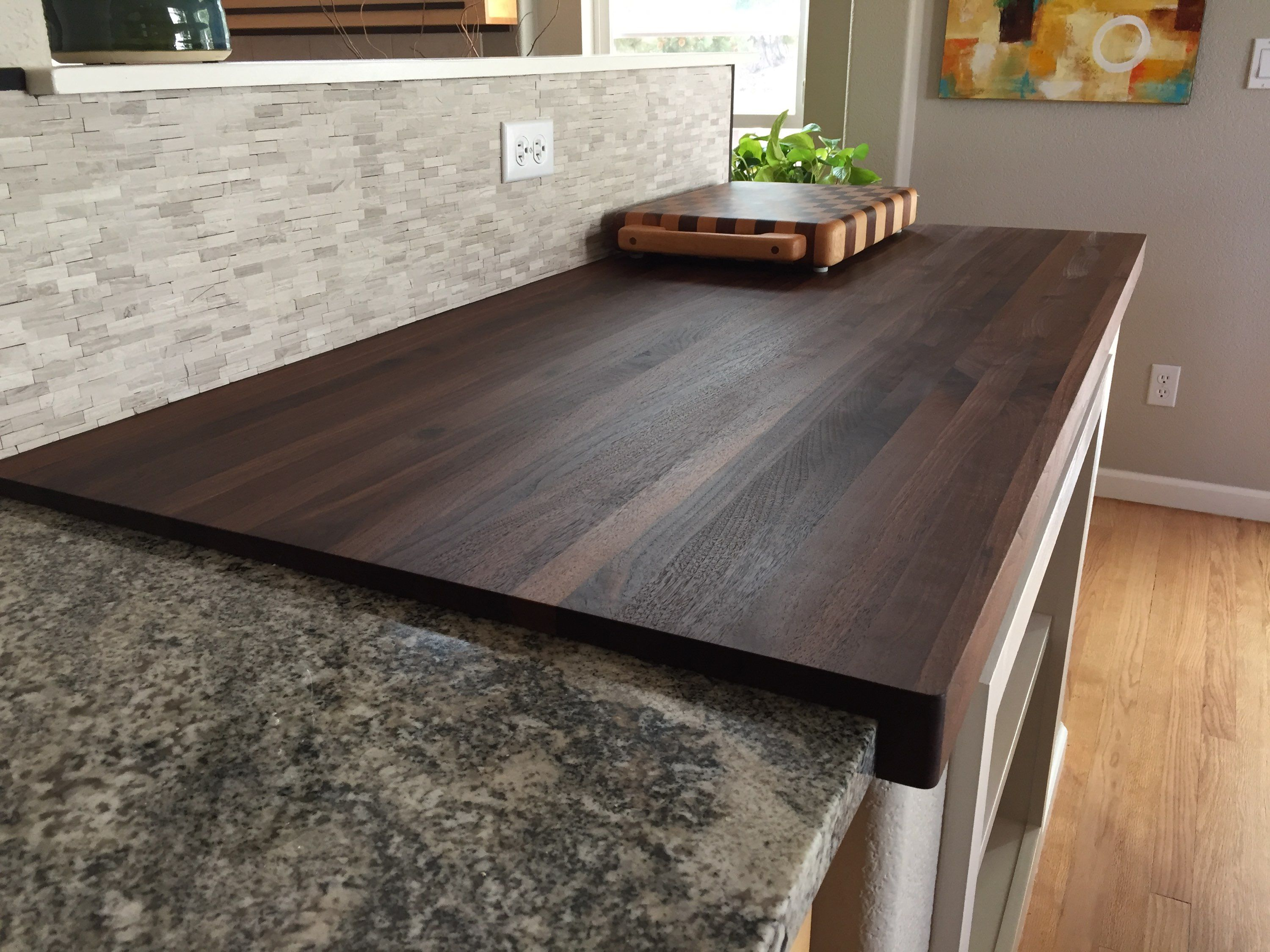 Walnut Butcher Block Countertop Customize Order Online Butcher Block Countertops Walnut Butcher Block Countertops Kitchen Remodel Countertops