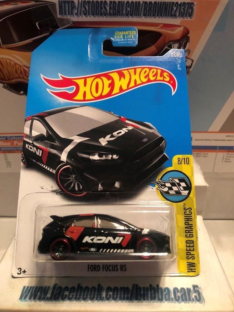 Hot Wheels 2017 Hw Speed Graphics 8 10 Ford Focus Rs Black Hotwheels Ford Ford Focus Rs Hot Wheels Ford Focus