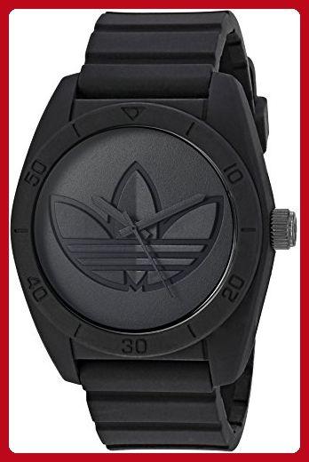 f3b5949146b0c adidas Men's 'Santiago' Quartz Rubber and Silicone Casual Watch ...