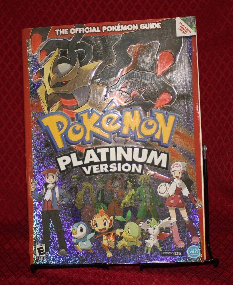 Pokemon Platinum Guide Book