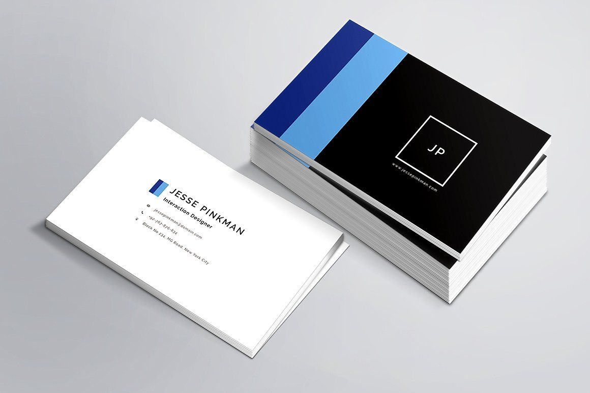 Personal Business Card Template - Business Cards - 3 | Business ...