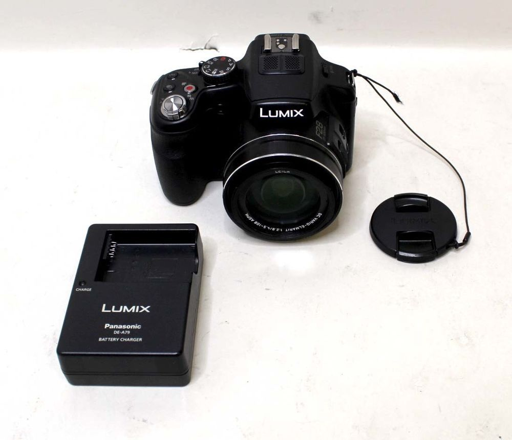 fb45a219e0 PANASONIC LUMIX DMC-FZ200 12.1 MP 12FPS FULL HD 24x ZOOM BLACK DIGITAL  CAMERA