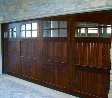 Castilian - Rustic with Elliptical Arch V-Grooved Panel and Lites