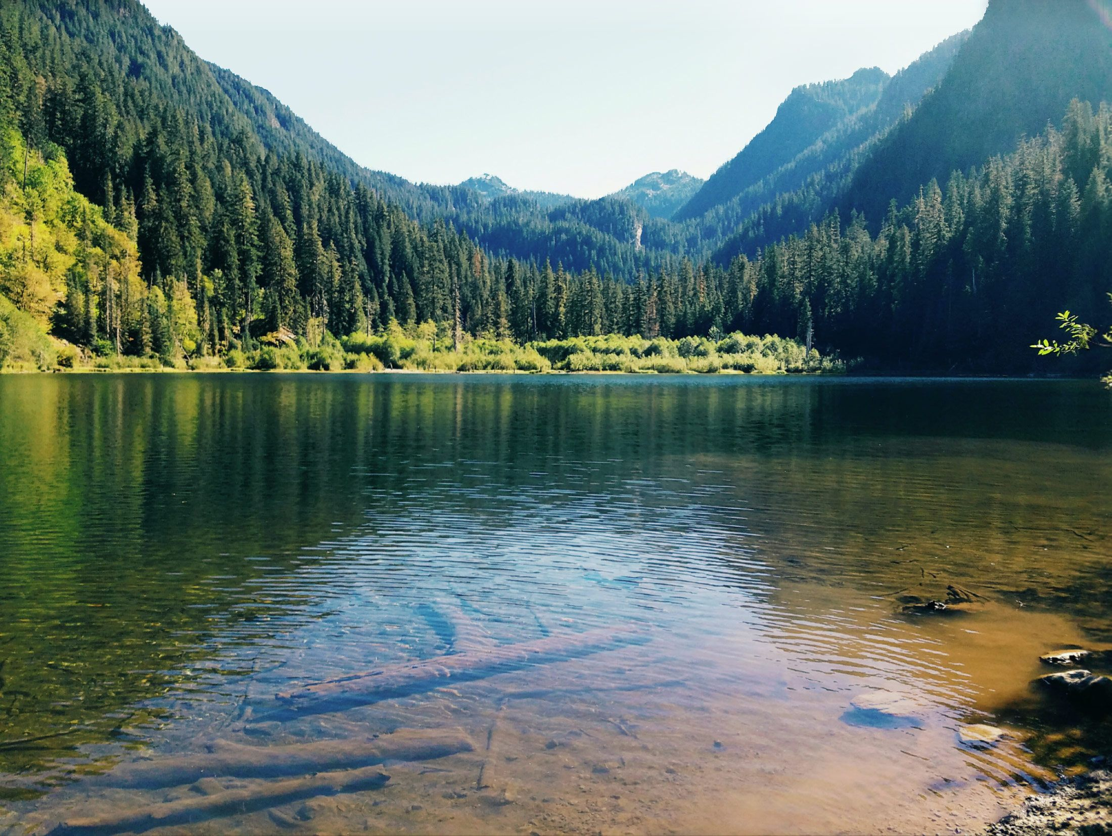 Trout Lake IN the Alpine Lakes WiLderness in King County ...