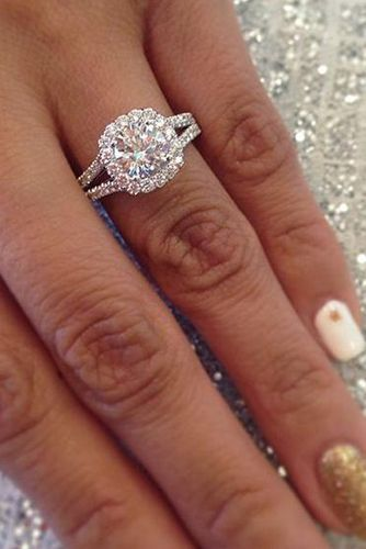 30 custom engagement rings that feel like they were created just for you double band wedding ringbig - Big Wedding Ring