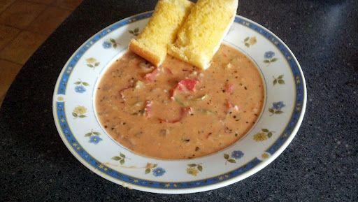 1can - tomato soup(family size)  1lb - italian sausage  1/2packages - pepperoni  1/2lb - mozzarella  1/2tsp - oregano