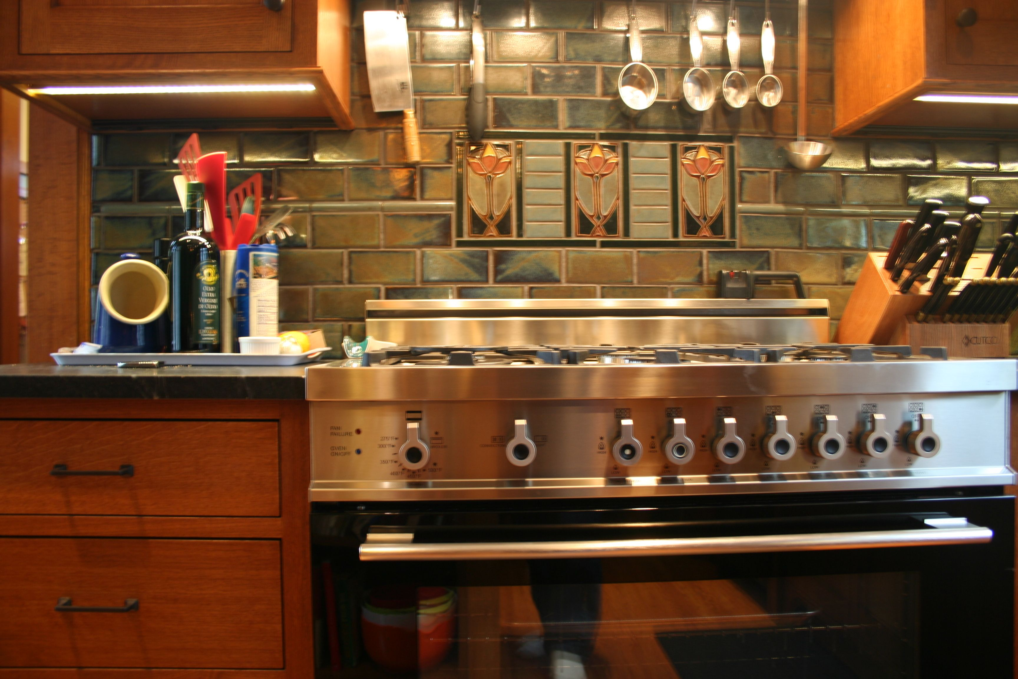North prairie tileworks craftsman craftsman style and kitchen decorative arts crafts backsplash on the arts crafts designs with its dailygadgetfo Choice Image