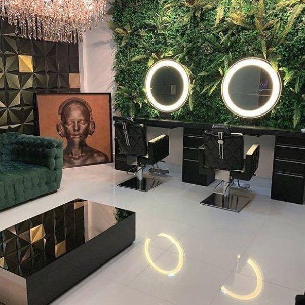 Modern Salon Interior Design Luxury Hair Salon Interior Design Salon Interior Design Price Li In 2020 Salon Interior Design Beauty Salon Interior Hair Salon Interior