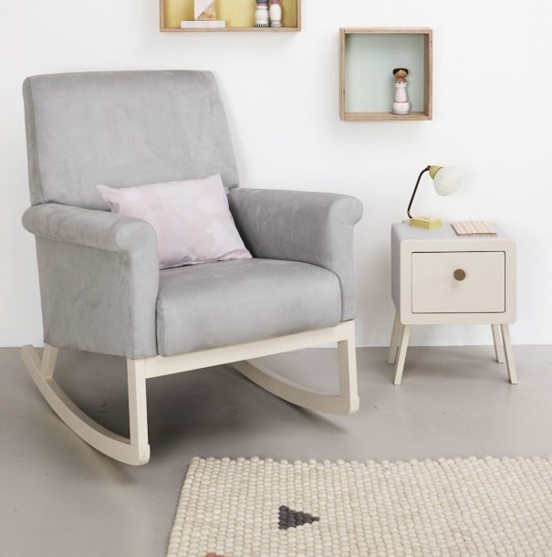 25 Cute And Comfy Scandinavian Nursery Ideas: Nursing Chair, Rocking Chair