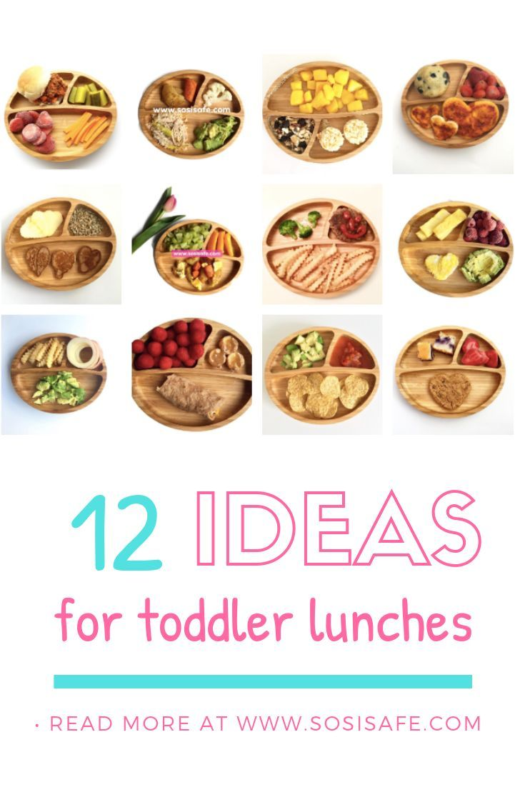 12 Easy and Homemade Toddler Meal and Snack Ideas, using your Avanchy Bamboo Plates images