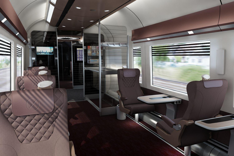 Heathrow Express concept render, by tangerine. Design