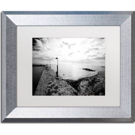 Trademark Fine Art Icy Dock On The Bay Canvas Art by Yale Gurney ...
