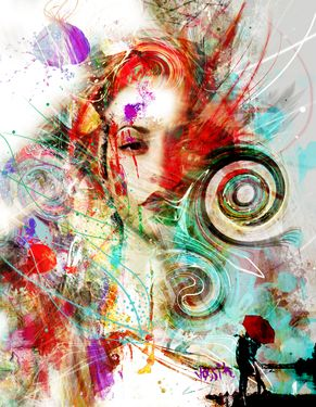 Layers Of Freedom Painting Freedom Art Abstract Portrait Creative Art