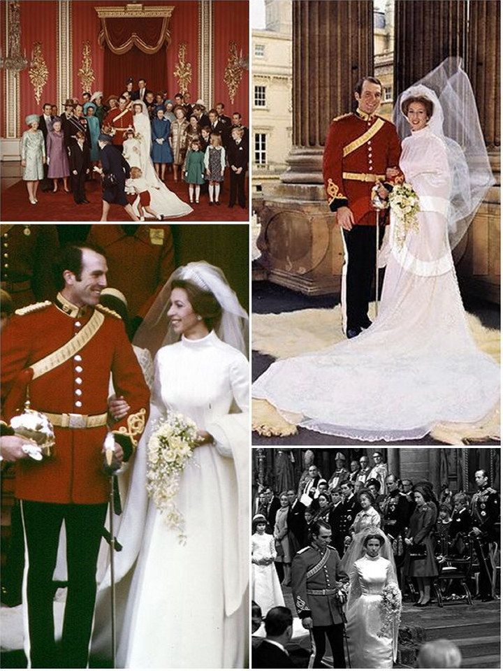 A royal wedding history : Princesses Margaret, Anne and Diana ...