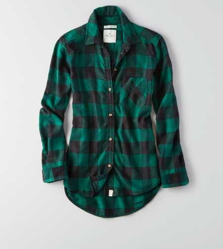 170a54ed47a AEO Canyon Boyfriend Flannel- probably large