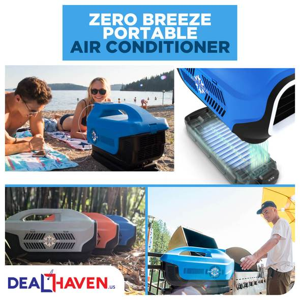 Zero Breeze Portable Air Conditioner dealhavens