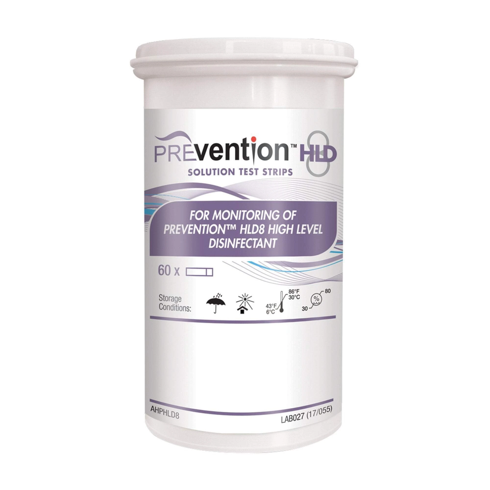 Prevention HLD8 Solution Test Strips 60 Count in 2020