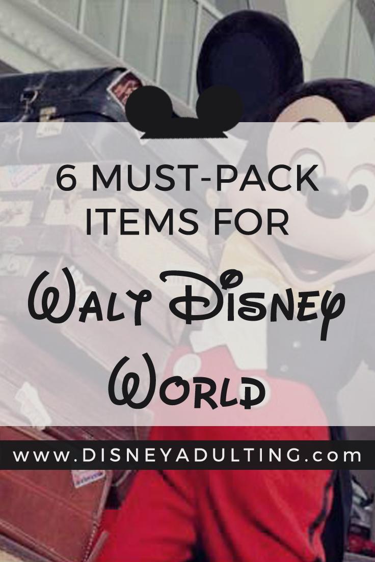 c65b5302081 What is a good Walt Disney World packing checklist