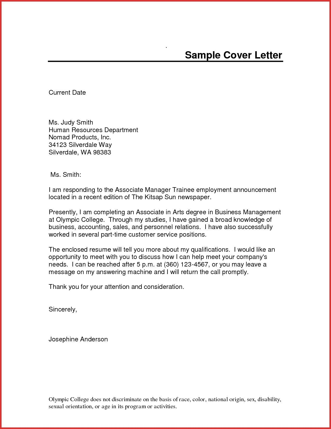 Valid Cover Letter For Marketing Executive Job Resume Cover