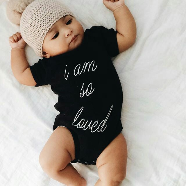 exceptional Baby Boy Pinterest Part - 16: i am so loved onesie for babies