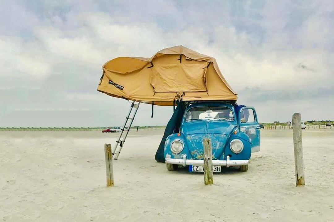 Ein Dachzelt Passt Nicht Nur Auf Einen Jeep Oder Landrover