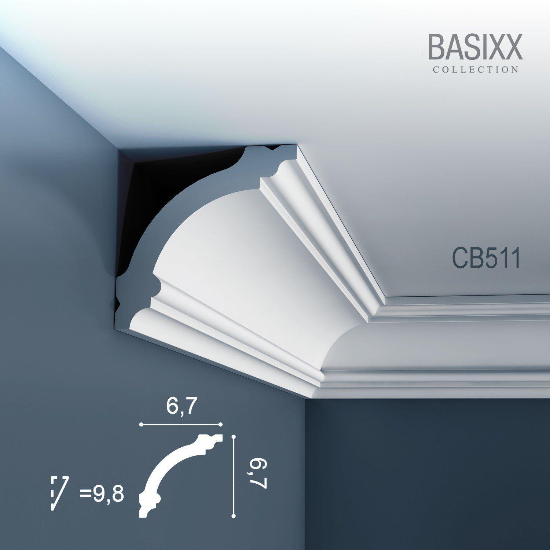 Orac Decor Basixx Deckenleiste Eckleiste Cb511 Profilleiste Stuckleiste Zierleisten Zierprofile A In 2020 Orac Decor Lighted Bathroom Mirror Interior Design And Build