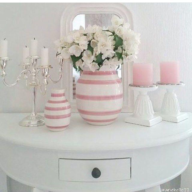 Bon début de semaine !! #home #rose #deco photo Google