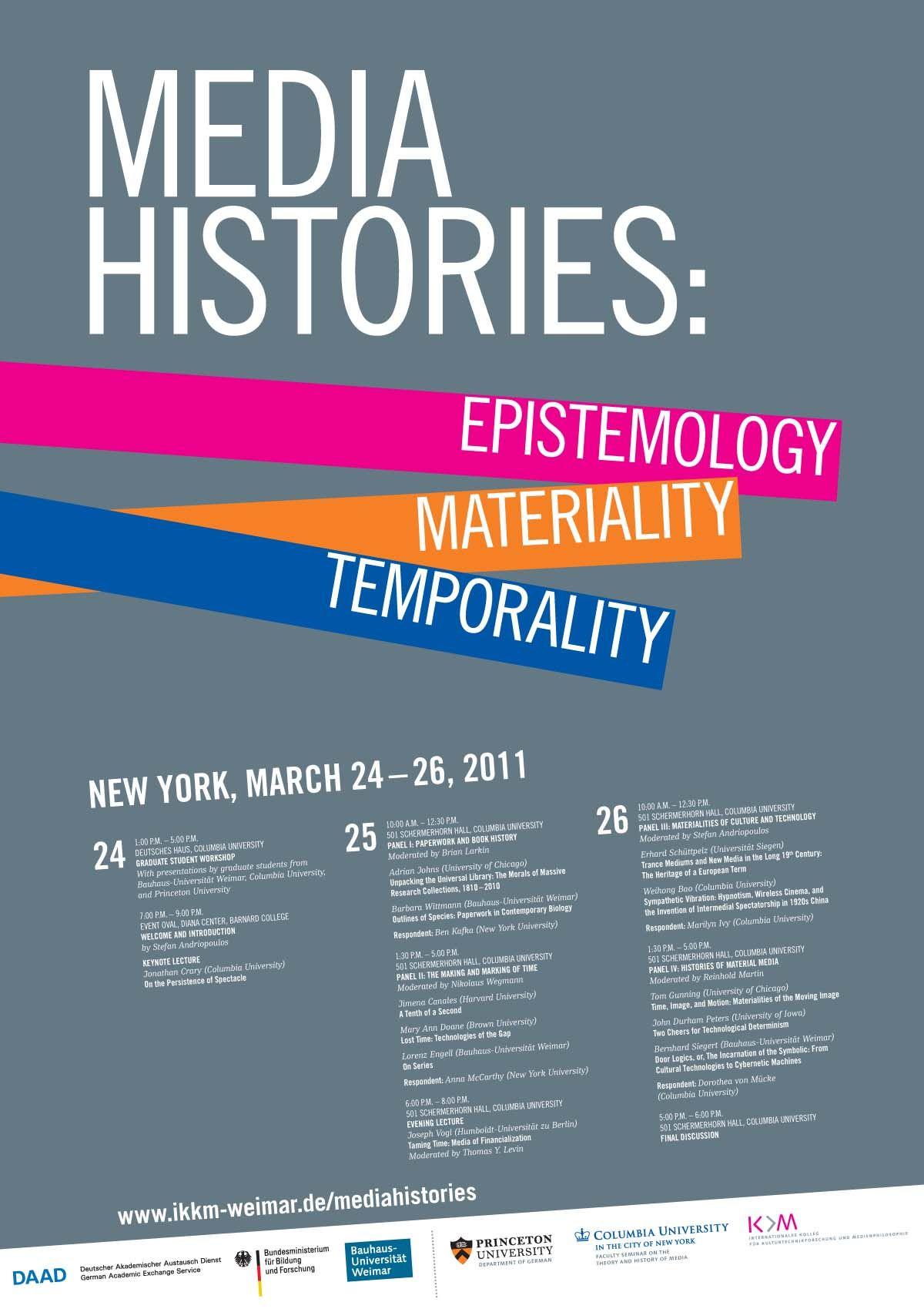 Poster design for symposium - Media Histories_conference Poster1 Jpg 1200 1699 Prints And Design Pinterest Conference Poster Sample Flyers And Infographics