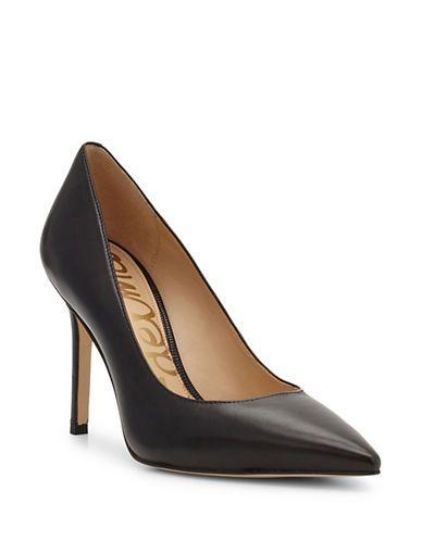 5f0fddf9f2 SAM EDELMAN Sam Edelman Hazel Pattern Leather Pumps. #samedelman #shoes # pumps
