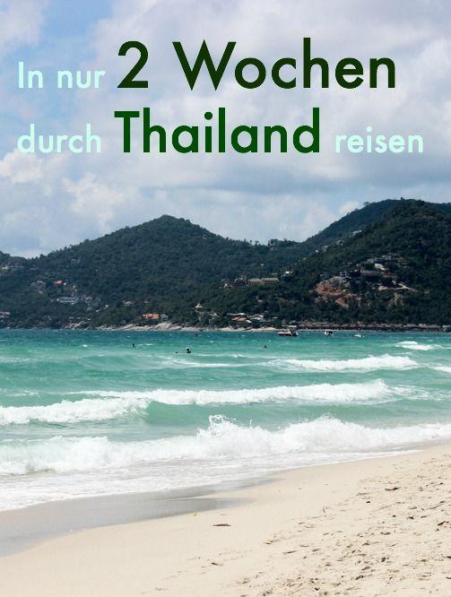 Photo of Thailand Rundreise in 2 Wochen