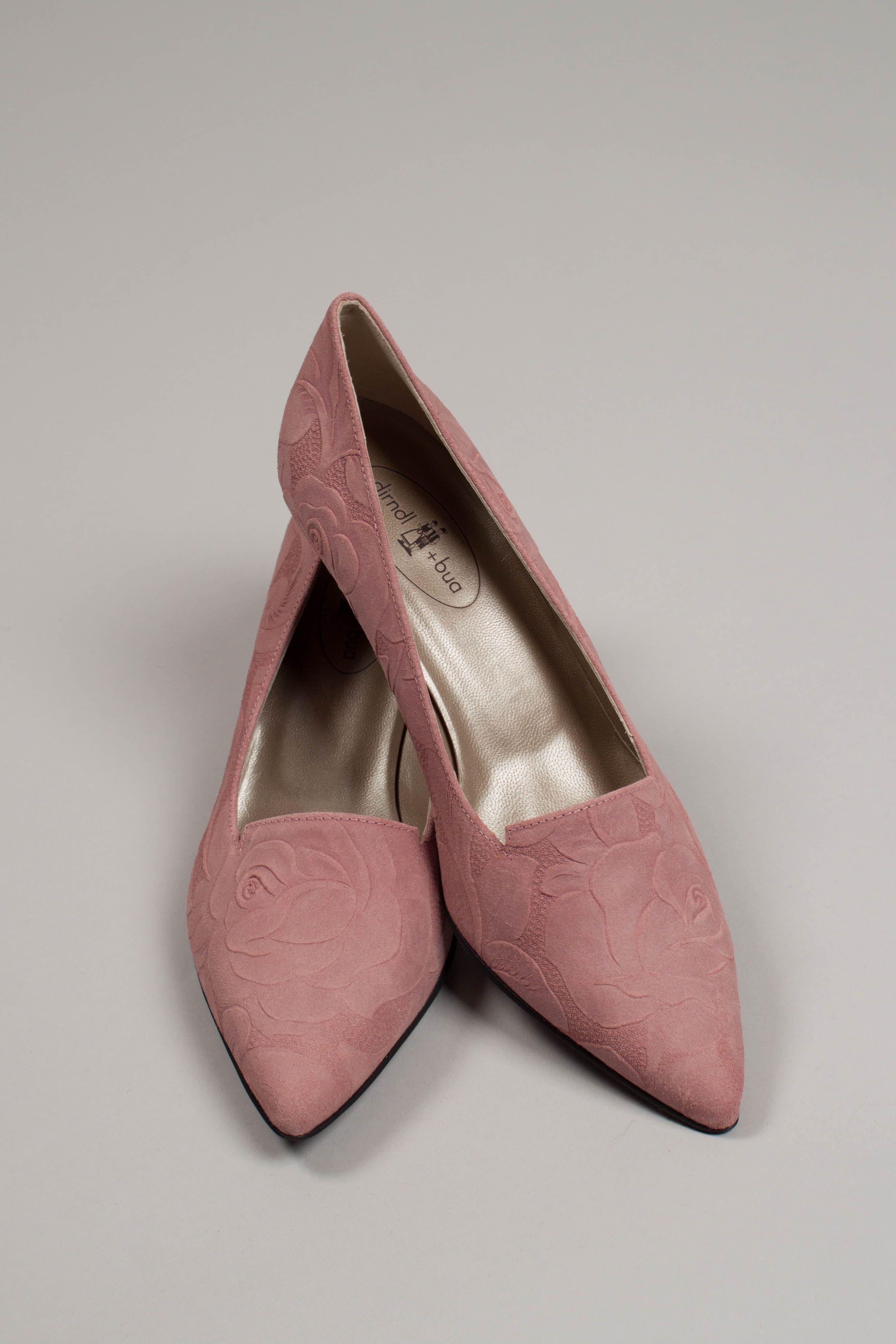 Dirndl Bua Damen Schuhe 5576 Altrosa Dirndl Schuhe Trachtenschuhe Trachtenschuhe Damen