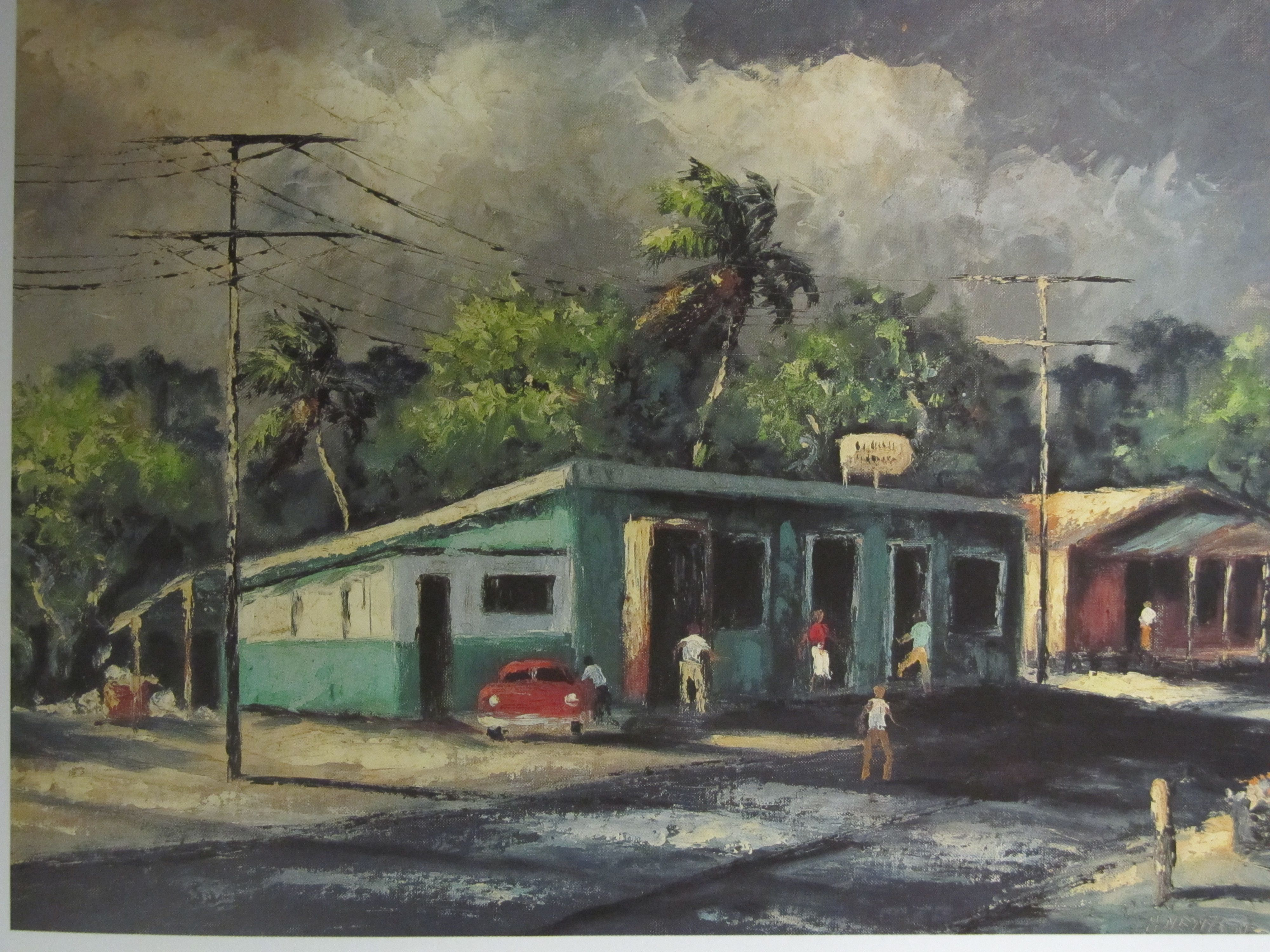 Watercolor artist magazine palm coast fl - Harold Newton Painting Eddie S Place From The Highwaymen Florida S African American Landscape