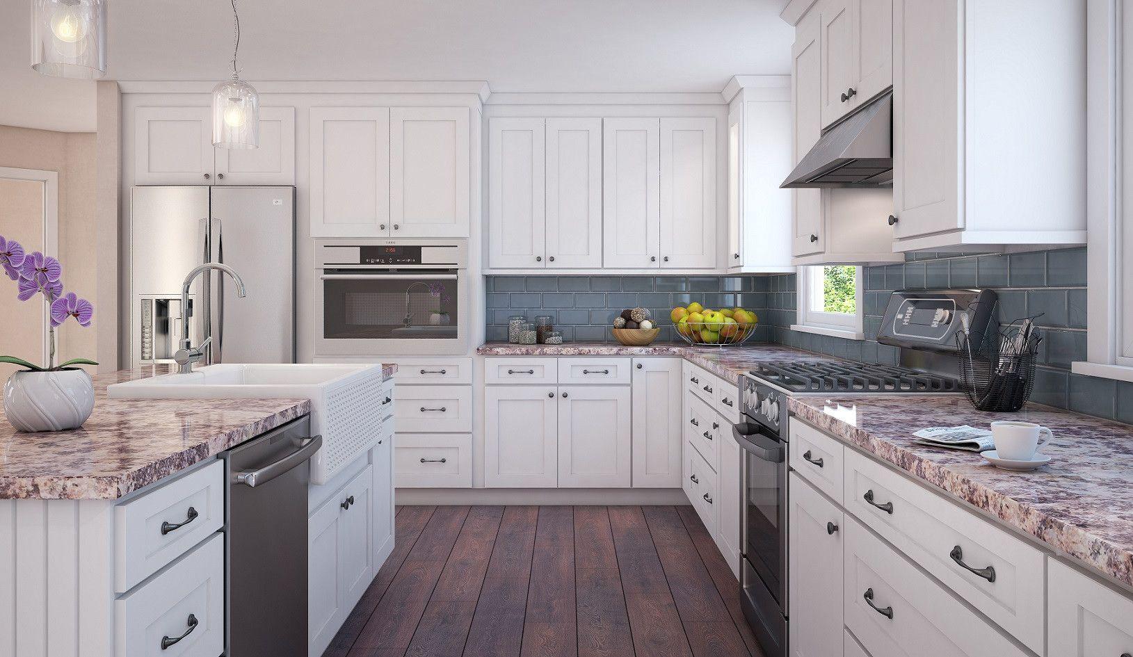 70+ Rta Cabinets White Shaker - Kitchen Cabinet Lighting Ideas Check ...