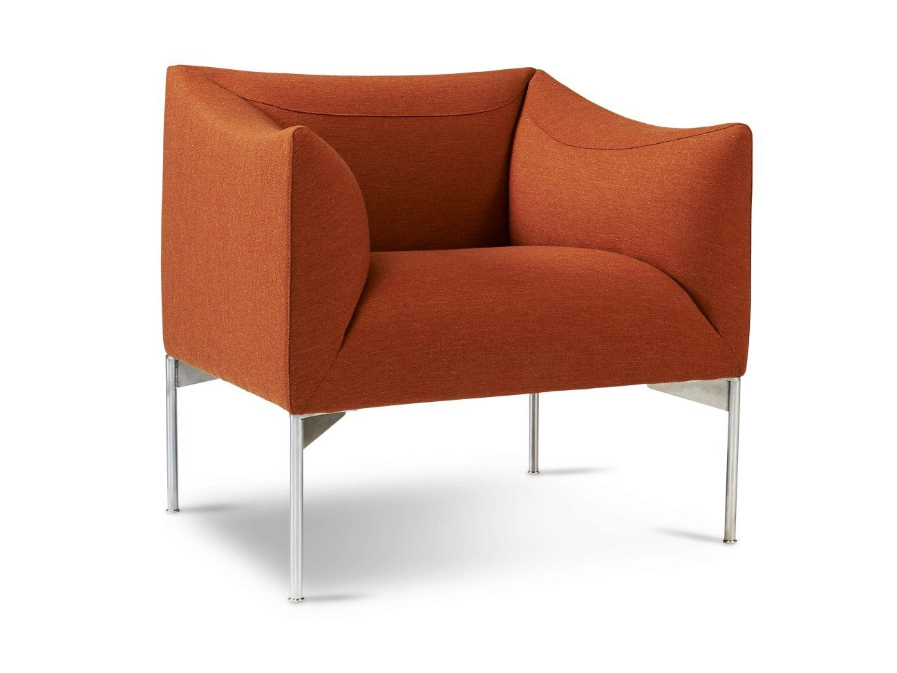 UPHOLSTERED ARMCHAIR WITH ARMRESTS BOW BOW COLLECTION BY ERIK JØRGENSEN | DESIGN TORBJØRN ANDERSSEN, ESPEN VOLL
