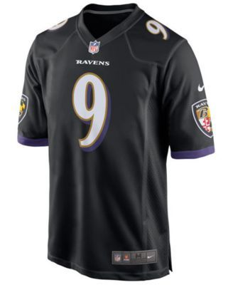 Nike Men s Justin Tucker Baltimore Ravens Game Jersey - Black XL ... a85108d4c