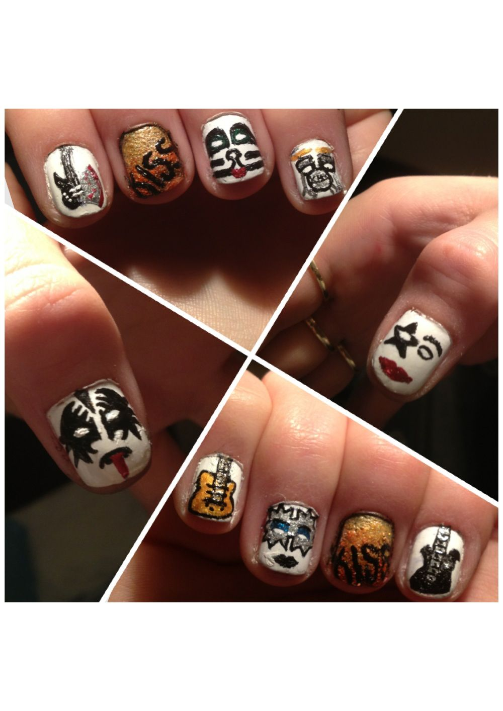 My kiss nails :)
