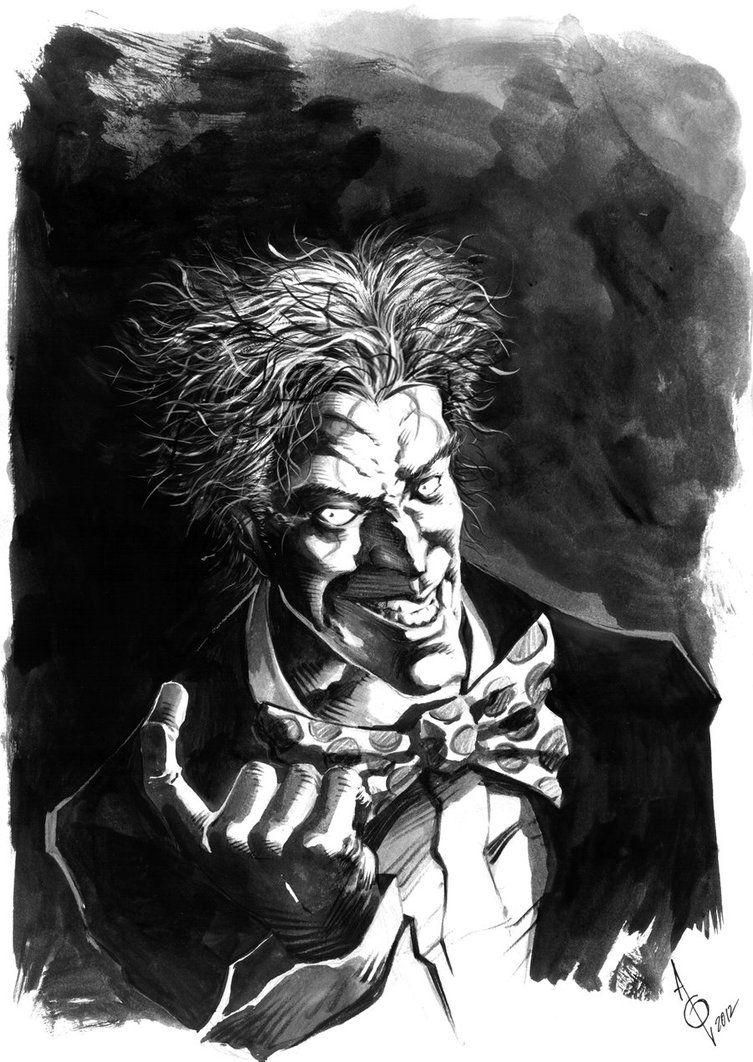 another joker sketch by quahkm deviantart com on deviantart