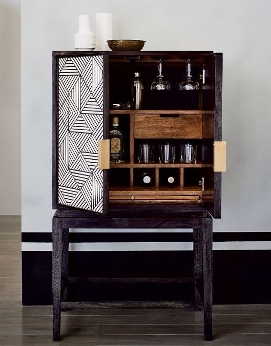Bar Cabinets Have Popped Up In The Latest Collections From Some Of