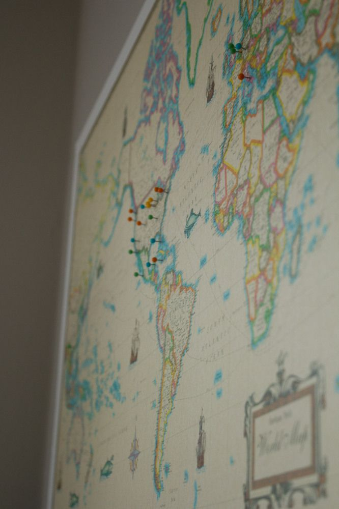 diy travel map place pins in places you ve been in one color and in