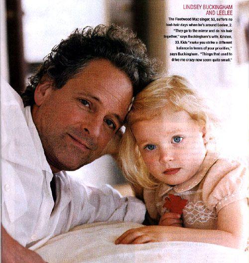 Lindsey Buckingham's daughter  | Men | Lindsey buckingham