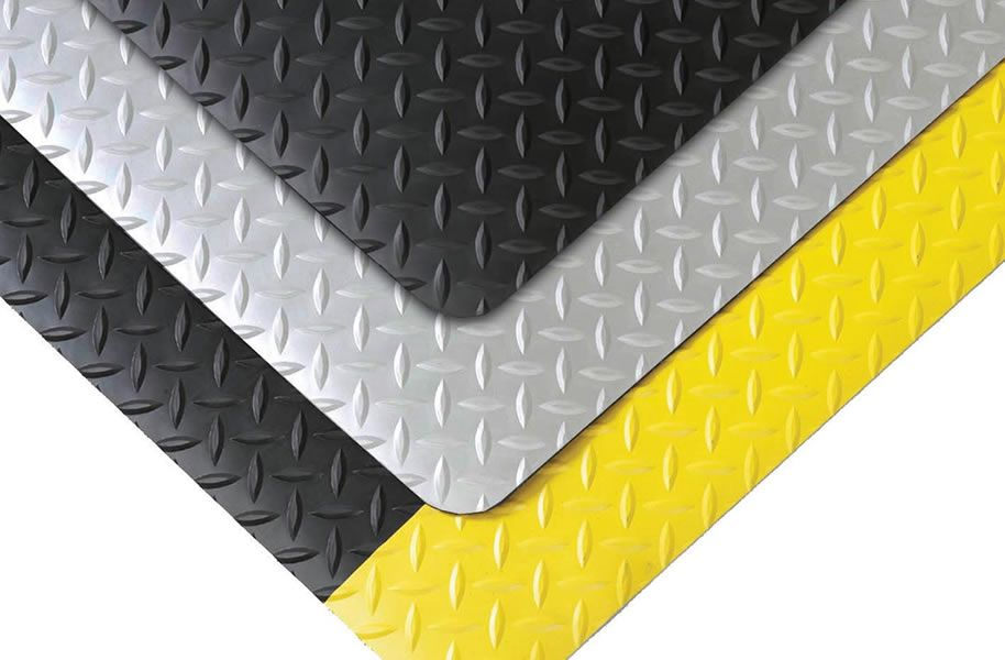 Cushion Trax Diamond Plate Antifatigue Safety Mat Anti