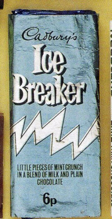 Icebreaker Chocolate Bars Sweet Wrappers Old Sweets