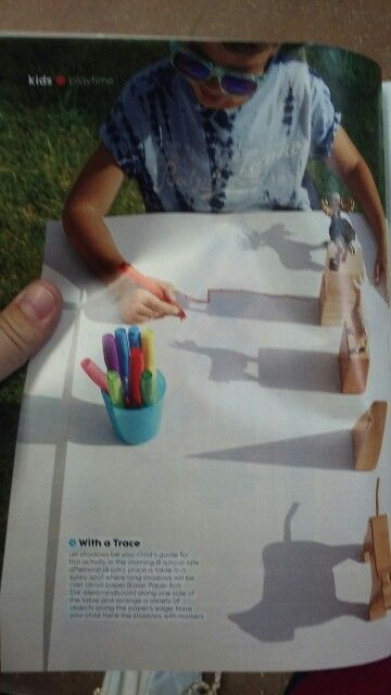 Kids activity idea