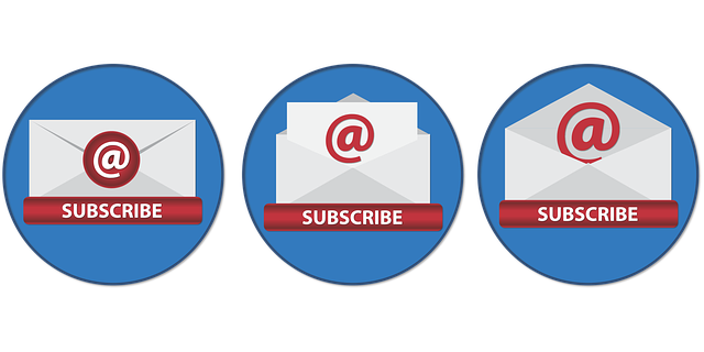 Subscribe by email and get email Notifications for free