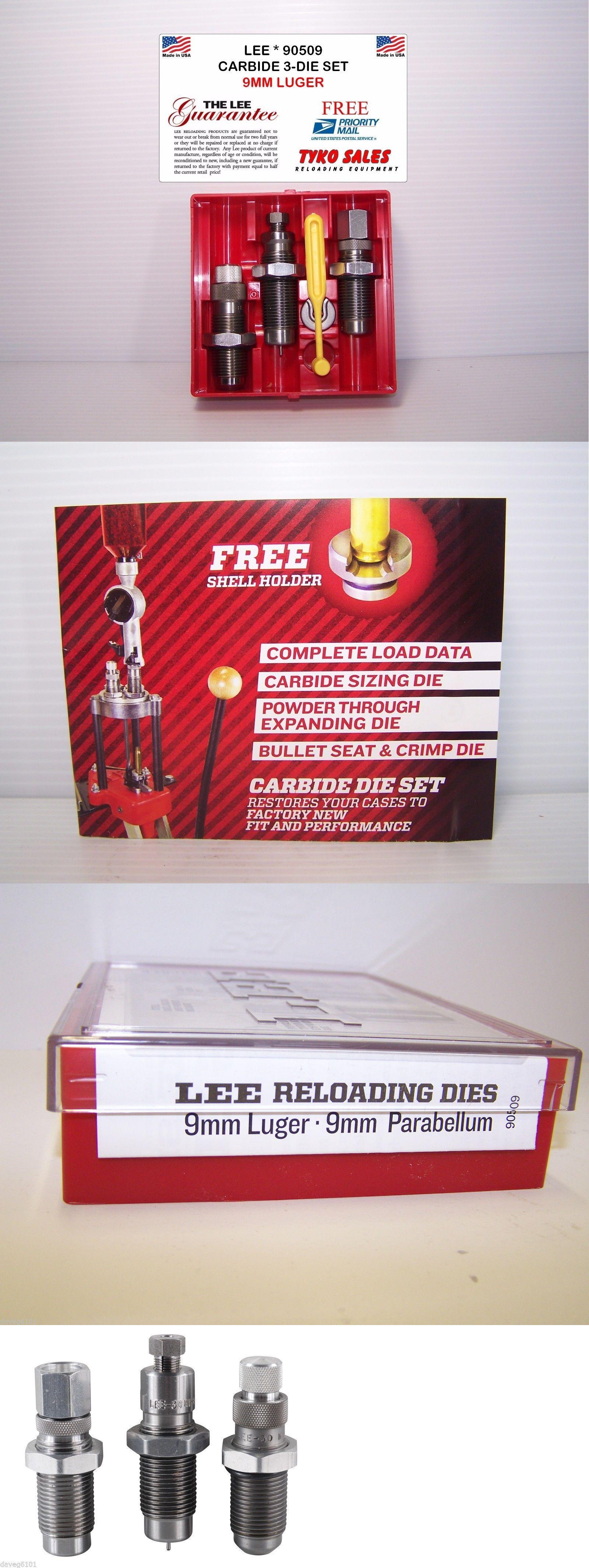Dies 31825: 90509 * Lee Carbide 3-Die Set * 9Mm Luger -> BUY IT NOW ONLY: $33.95 on eBay!
