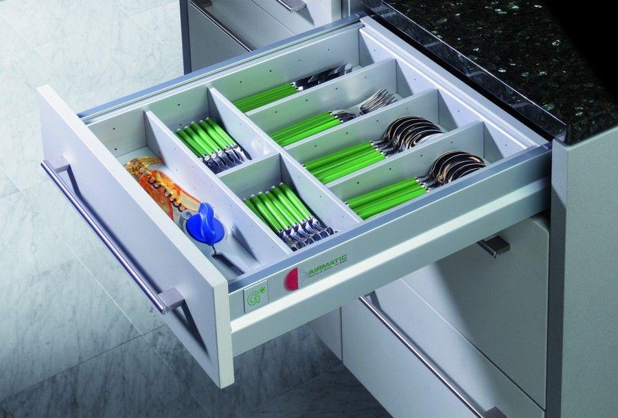 Accesorii moderne pentru Mobila de Bucatarie dotata cu Sertare - schubladen organizer küche