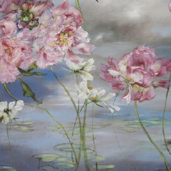 Claire Basler Peinture Fleurs Peinture Fleur Pastel