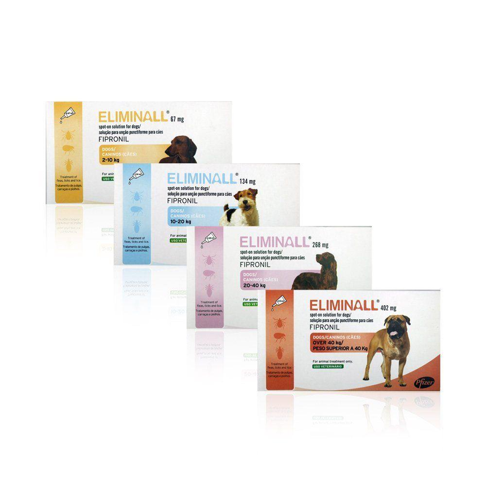 Eliminall Spot On For Dogs Fleas Ticks Dogs Vetmedic