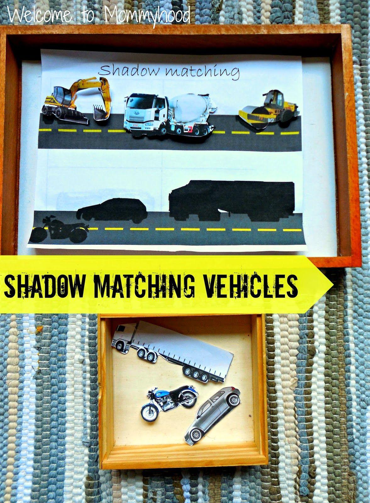 Transportation Shadow Matching Activities