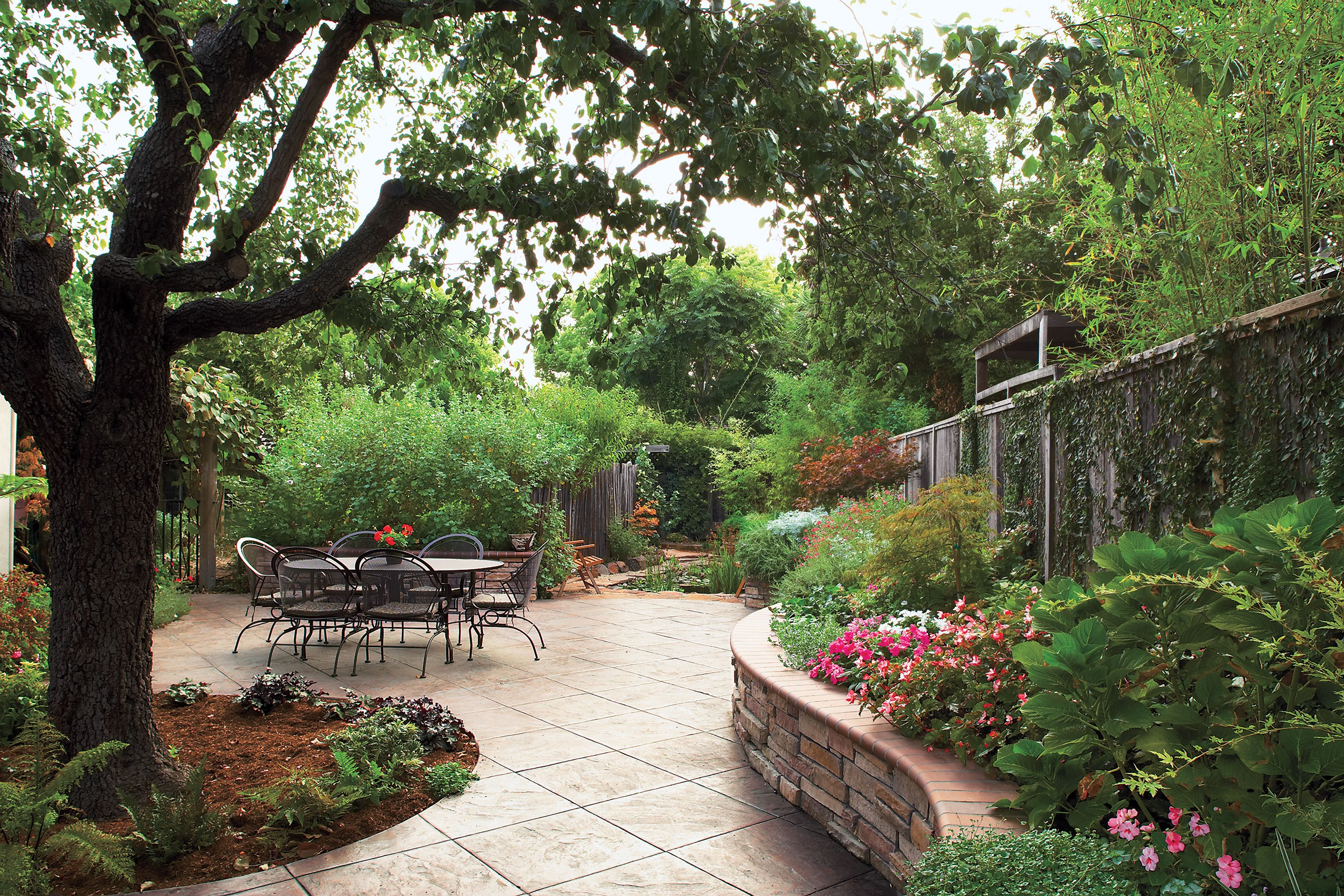 Building Blocks For A Perfect Patio Large Backyard Landscaping